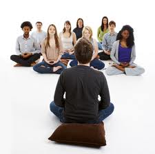 Mindfulness Training is open to all ages and abilities. You don't have to sit on the floor, you can sit in a chair or even lie down to practice.
