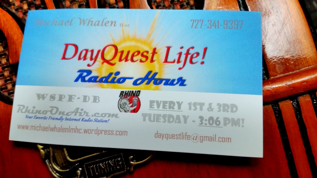 Tune In! 1st & 3rd Tuesdays @ 3:06pm!