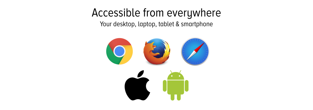 Accessible from anywhere